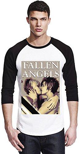 Fallen Angels Religion Unisex Baseball Shirt Large (T-shirt Fallen Angel)