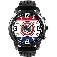 bd760ab11716 Paraguay Reloj para hombre con correa de silicona