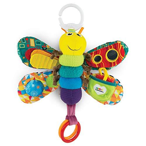 Lamaze Baby Spielzeug Freddie, das Glühwürmchen Clip & Go - hochwertiges Kleinkindspielzeug - Greifling Anhänger zur Stärkung der Eltern-Kind-Beziehung - ab 0 Monate