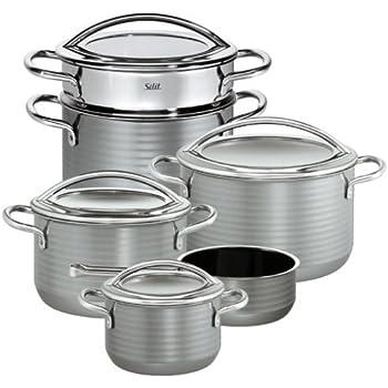 Silit Topfset Vision 6-TLG.: Amazon.de: Küche & Haushalt