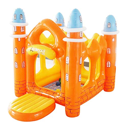 Bouncy Castles Sports Toys Indoor Small Trampoline Children's Room Small Inflatable Castle Outdoor Children's Amusement Park Children's Toy House Children's Tent Children's Inflatable Toys