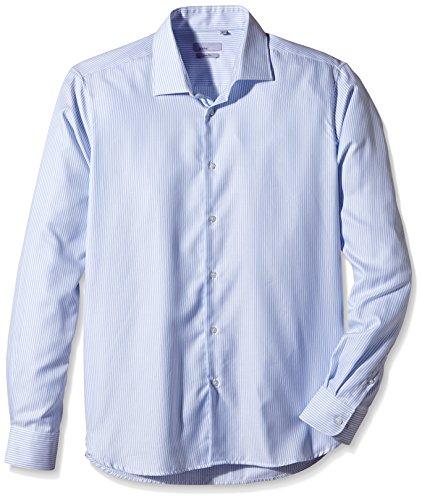 Atelier Privé Herren, taille normale, Freizeithemd, APH15CH1229 Blau (Bleu)