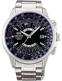 Orient # ceu07008d Hombres de acero inoxidable Multi año calendario reloj automático