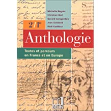 Bac français, anthologie, élève