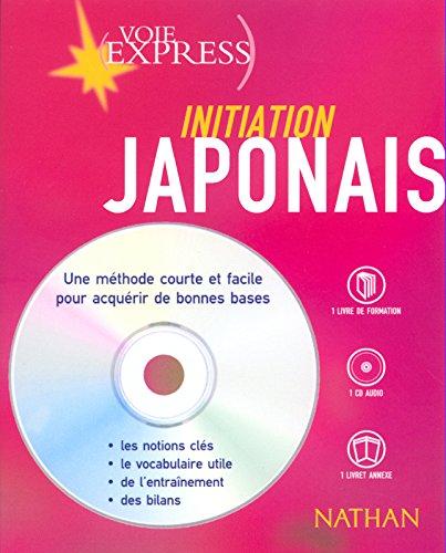 Japonais : Initiation (2 livres + 1 CD audio)