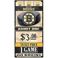 WinCraft Boston Bruins NHL Ticket Schild