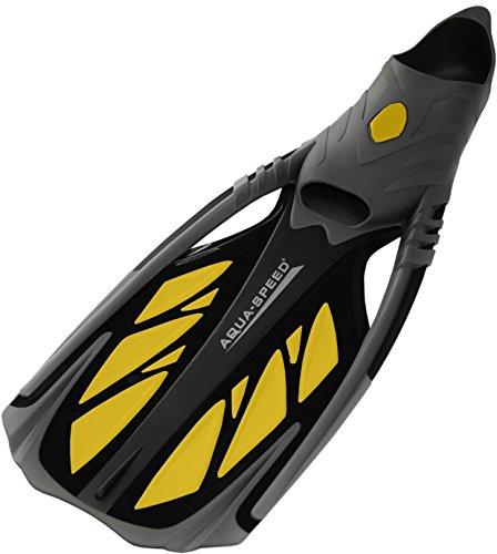 Aqua Speed INOX Unisex Flossen | Taucherflossen | Schwimmflossen | Schnorchelflossen - für bequemes Schnorcheln, Tauchen Schwimmen, Größen:40/41