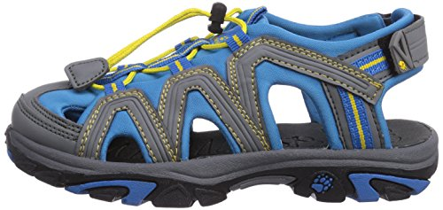 Jack Wolfskin LITTLE PIRATE SANDAL K, Unisex-Kinder Sport- & Outdoor Sandalen, Blau (brilliant blue 1152), 32 EU (13 Kinder UK) -