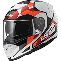LS2 FF390 ROMPIADOR SERGENTE Bluetooth Listo (No Incluido) Doble Visera Casco de Moto de