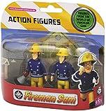 Fireman Sam 2 Figure Pack - Sam with Megaphone and Elvis