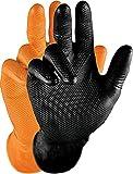 Grippaz Gripster Nitril Handschuhe extrem robust und reißfest pattentierte...