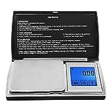 Digital Pocket Scale,Next-shine Digital Gram Pocket Grain Jewelry Weigh Scale by 200 X 0.01g,Black