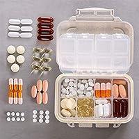 Weekly Pille Veranstalter–AOLVO klein Süße Tragbare Pillendose Tablettenbox Schutzhülle für Geldbörse/Pocket... preisvergleich bei billige-tabletten.eu