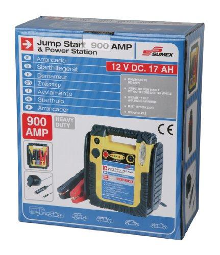 51RHMgJqvTL - SUMEX 3505137 - Arrancado De Batería Jump Start, 900W, Recargable 12V - Muy Potente