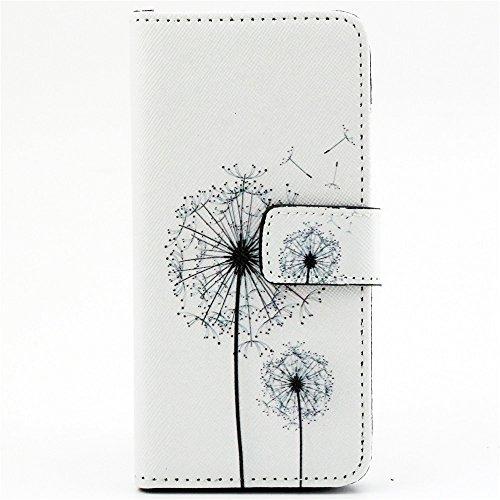 TIODIO® 4 en 1 Skin Coque en PU Cuir Portefeuille Housse de Protection à rabat Case Etui Pour Apple iphone 6S/iPhone 6, Stylus et Film protecteur inclus, A45 A11