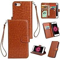 Yobby Groß Brieftasche Hülle [3 Layer] für iPhone 7,iPhone 8 Handyhülle Klassisch Flip Leder Tasche Abdeckung... preisvergleich bei billige-tabletten.eu