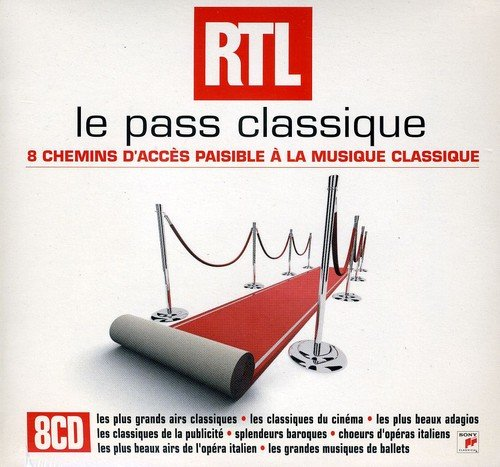 Le Pass Classique RTL (Coffret 8 CD)
