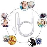Otoscopio 720P HD Endoscopio Visual Tres En Uno Portátil WiFi Inalámbrico Cámara Limpiador De Oído DE 5.5 MM, Tipo Universal, Adecuado para Oídos, Boca, Nariz, Etc