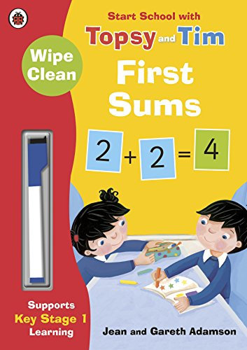 Wipe-Clean First Sums: Start School with Topsy and Tim (Start School With Topsy & Tim) por Jean Adamson