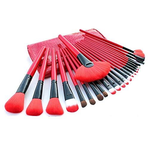 Set de pinceaux de maquillage 24 outils de beauté complets, 24 C