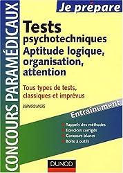 Tests psychotechniques : Aptitude logique, organisation, attention