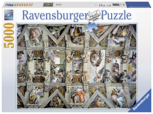 Ravensburger Italy 17429 - Puzzle in Cartone Cappella Sistina, 5000 Pezzi