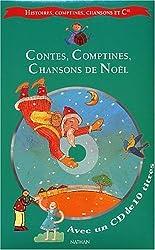Contes, comptines et chansons de Noël (1 livre + 1 CD audio)