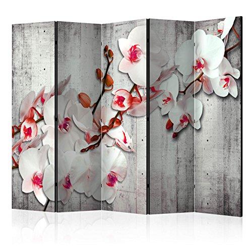 murando Paravent 225x172 cm Une Seule Côté Impression sur Toile intissée 100% Opaque Foto Paravent Décoratif en Bois avec Interieur Impression b-A-0157-z-c