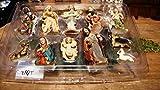 11 schöne Krippenfiguren, hochwertige Ausführung und Mimik, Figuren für große Holz Weihnachtskrippe Zubehör, BTV Design XXL Maria Josef Jesus aus Krippen Krippenzubehör Krippen Krippe Krippenfigur Figur für Weihnachtskrippen KFS