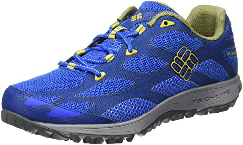 Columbia Conspiracy Iv Outdry, Chaussures Multisport Outdoor homme Super Blue, Antique Moss