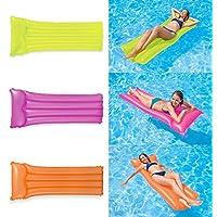 Intex 59717 Inflatable Neon Mattress (Colors may vary)