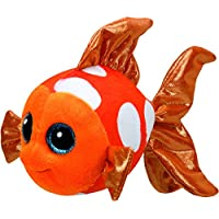 TY - Beanie Boos Sami, pez, 15 cm, color naranja (United Labels Ibérica 37176TY)