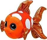 Ty- Peluche, Juguete, Color Naranja, 15 cm (United Labels Ibérica 37176TY)