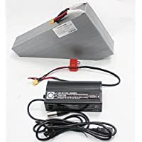 Great 48V 19.8AH Ebike Li-ion Triangle Battery SAMS Cell Electric Bike Lithium Polymer Battery with Free BMS Board+Charger