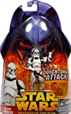 Clone Trooper with Quick Draw Attack No.6 Star Wars Revenge of the Sith Collection 2005 Hasbro