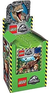 Caja de 25 Sobres de Cromos Lego Jurassic