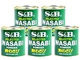 S&B - Wasabi Powder 5er Pack (5 x 30g) für Meerrettich Wasabi Paste