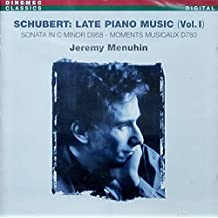 Sonata Piano/Moments Musicaux (6) by F. Schubert (1999-03-30)