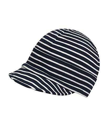 Döll Döll Unisex Baby Mütze Schirmmütze Jersey, Blau (total Eclipse 3000), (Herstellergröße: 49)