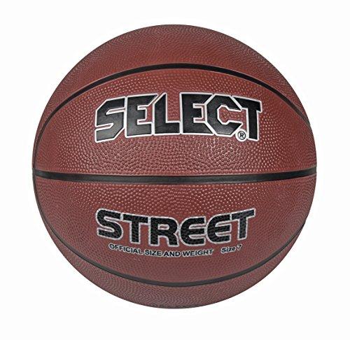 Select Basketball Street, Braun/Schwarz, Größe 5