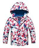 HuTuHu Softshell Coupe Vent Enfant Jacket Veste Coupe-Pluie Fille Blouson de Ski...