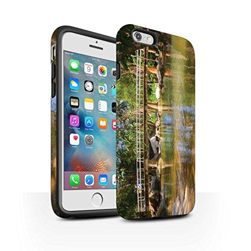 STUFF4 Matte Harten Stoßfest Hülle / Case für Apple iPhone 6+/Plus 5.5 / Feuerwerk Muster / Thailand Landschaft Kollektion Fußgängerbrücke