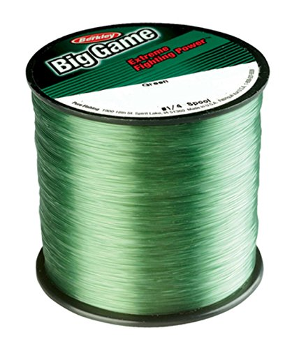 Berkley Trilene Filament Line Mono Big Game, Grün, 12 kg Mono-crystal