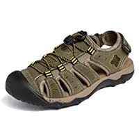 Seaoeey Athletic Sandals for Men Fisherman Breathable Sport Beach Sandals
