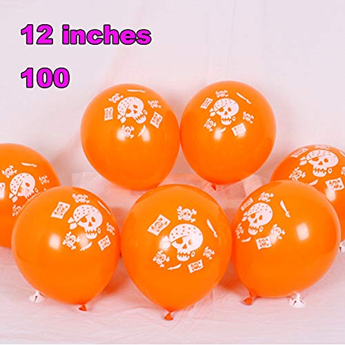 Ein Zum Verkauf Von Art Einer Kostüm - FreF 100 Stück Luftballons Schwarz Gold Ballons Luftballon für Damen Herren Geburtstag Abschluss Halloween Party Deko 12 Zoll,G