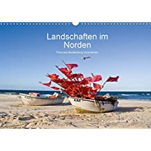 Landschaften im Norden (Wandkalender 2018 DIN A3 quer): Fotos aus Mecklenburg Vorpommern (Monatskalender, 14 Seiten ) (CALVENDO Natur)
