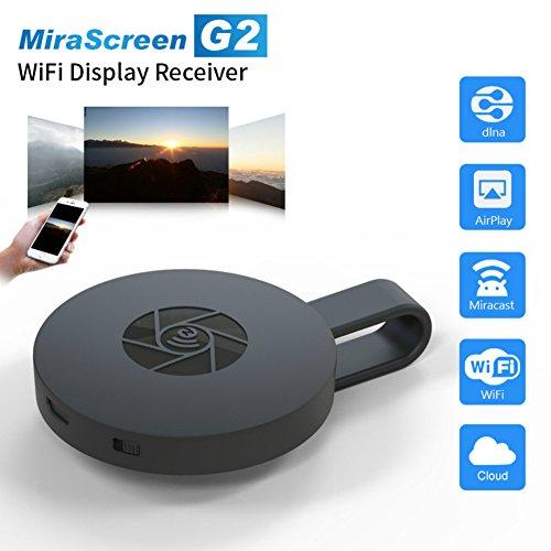 RosyXandy Miracast Dongle, Mirascreen G2 Wireless-Hdmi-Dongle Fernsehstock 2.4G 1080P Hd Fernsehdongle-Stecker-Unterstützung Miracast Airplay Dlna Airplay Mirroring Anzeige Dongle (Cookie-projektor)