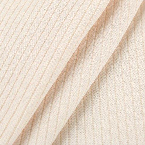 AmazingDays Maglia a manica lunga - Monospalla - Stampa animalier - Donna Kaki