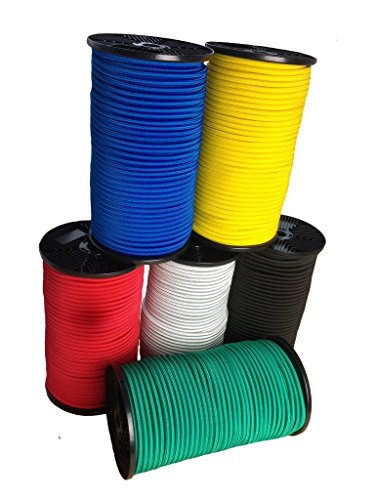 Preisvergleich Produktbild Hummelt® SilverLine-Rope Expanderseil Gummiseil 8mm 10m schwarz