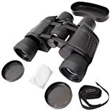 #5: Grizzly Comet 8x40mm Powerful Prism Binocular Telescope Outdoor With Pouch - Black